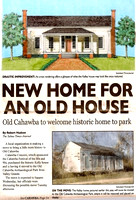 The Kelly House was featured on the front page of the Selma Times-Journal on August 3, 2011.