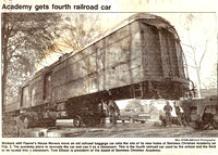 Railcar relocated