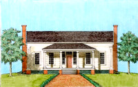 Architectural rendering shows the Kelly House after restoration.