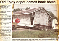 Historic Depot returns to Foley